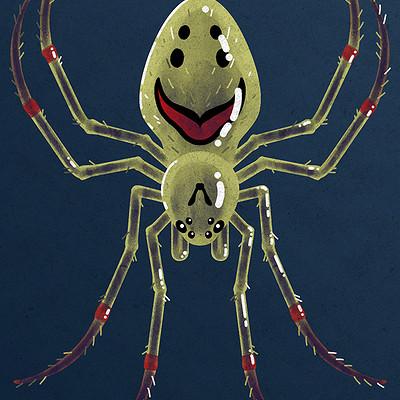 Rowan sherwin smiley spider s
