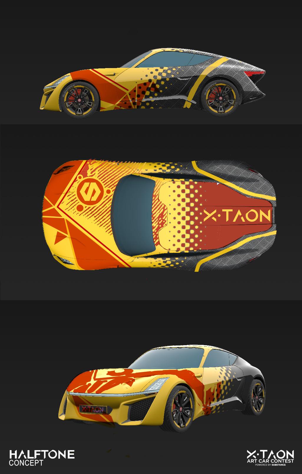 Zoltan korcsok x taon art car concept 001
