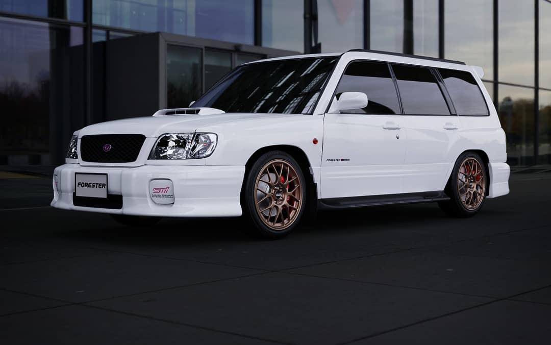 Dmitry Mazin Subaru Forester Sf5 Sti 2000