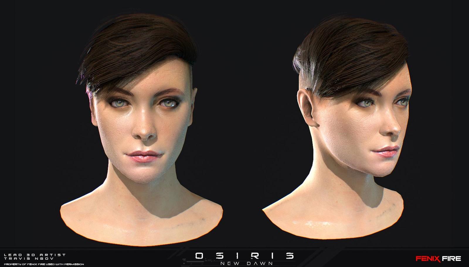 NPC Head update (Sculpt, Texture)