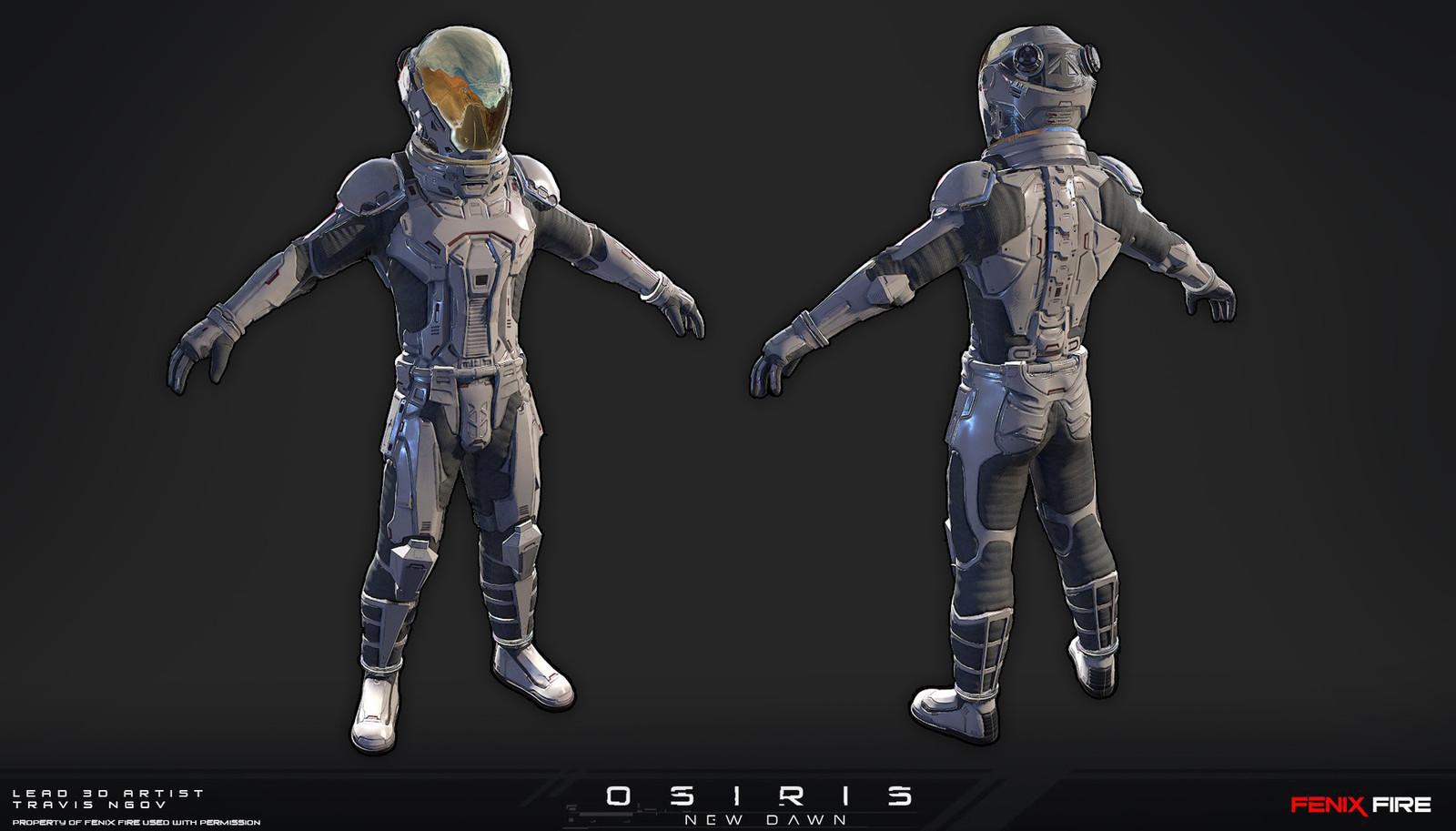 Ranger Class (Model, Texture, & Rig)