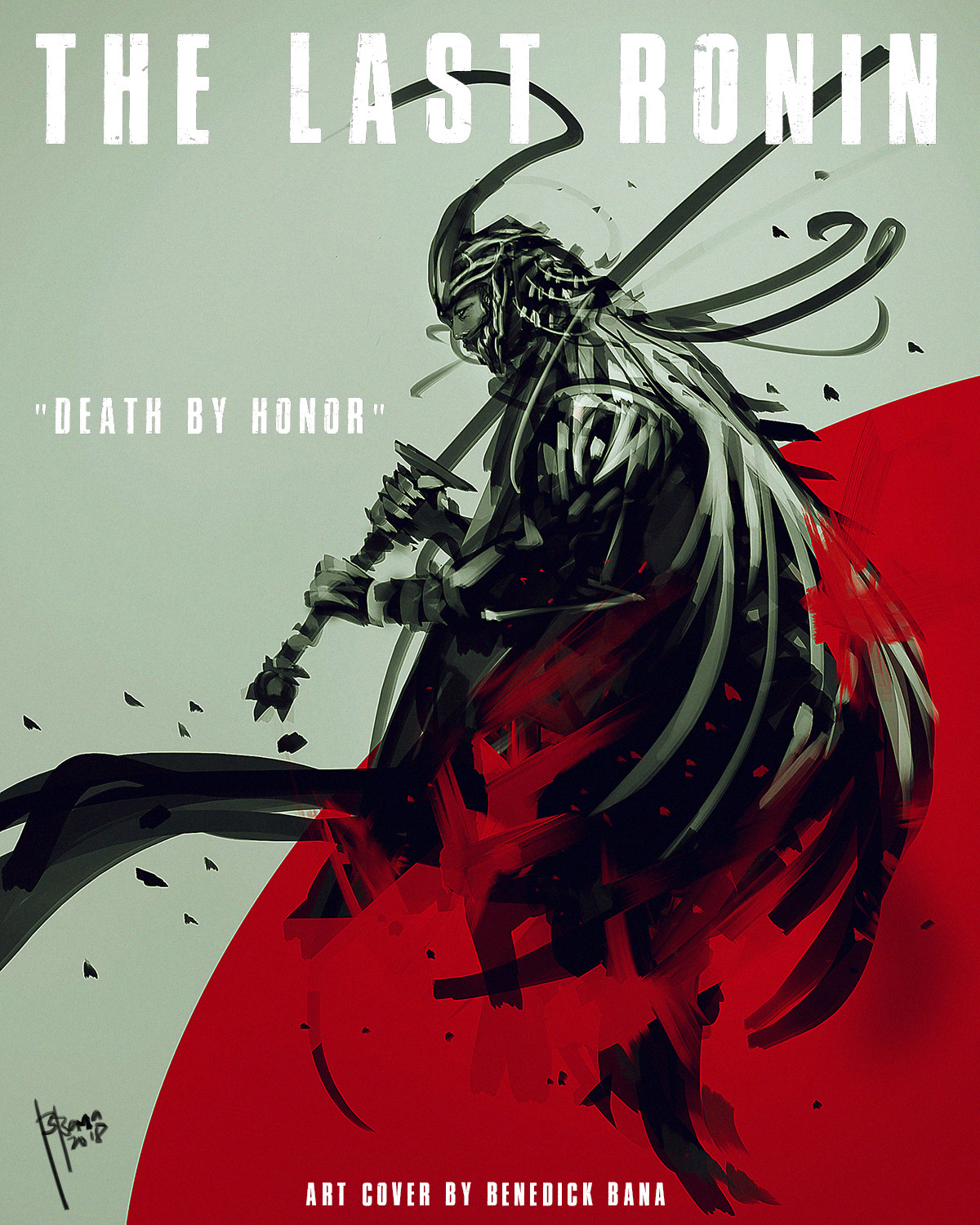 The Last Ronin with title &  text
