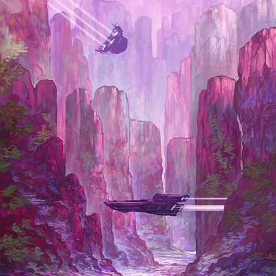 Lorelei si loreleisketch landscape 21