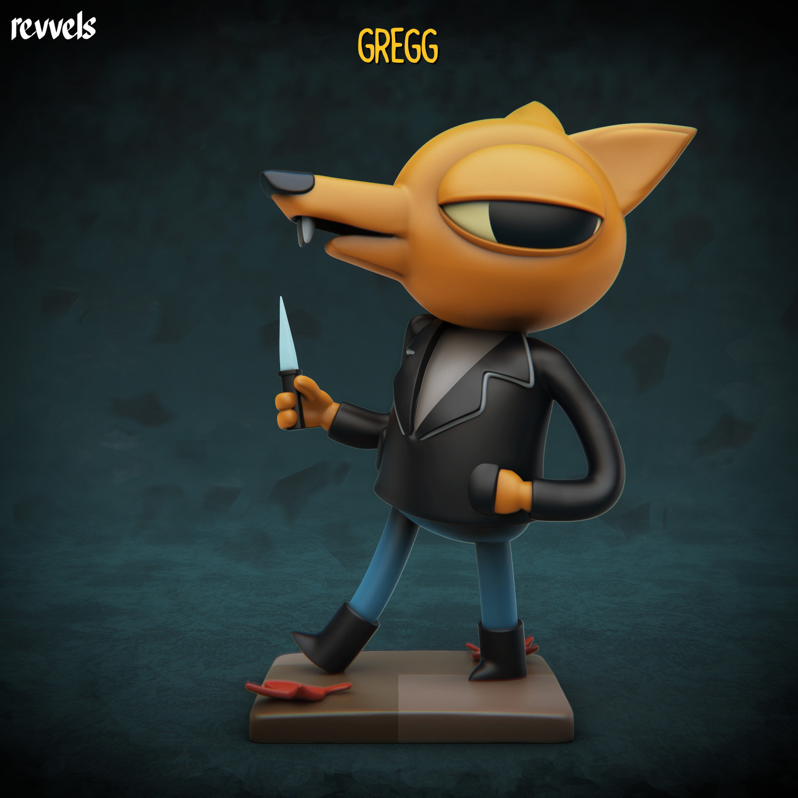 Night in the Woods: Gregg