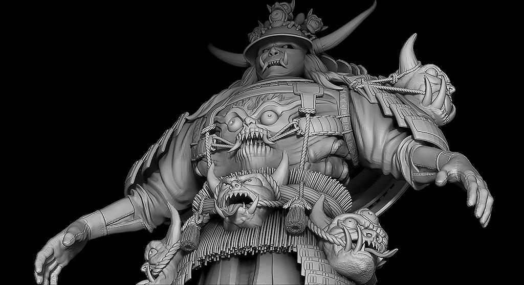 Julien laurans artstation samourai challenges julien laurans wip023