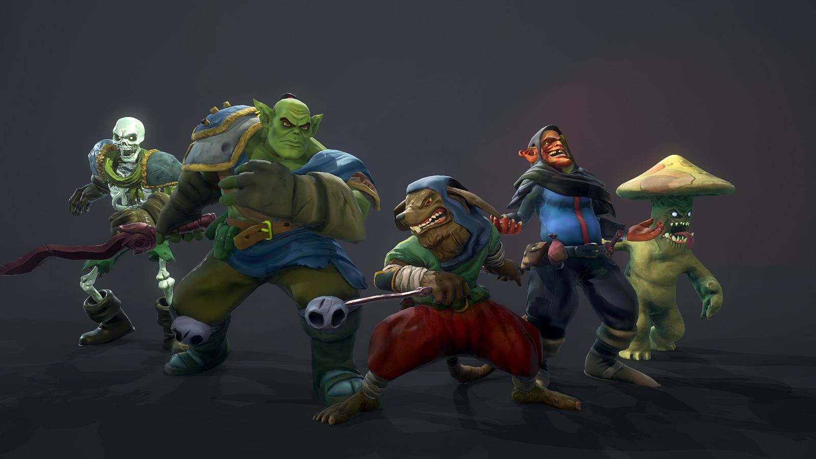 Hammerhelm Enemies