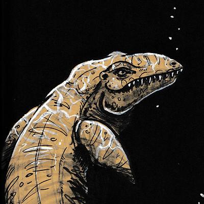 Molly heady carroll mosasaur