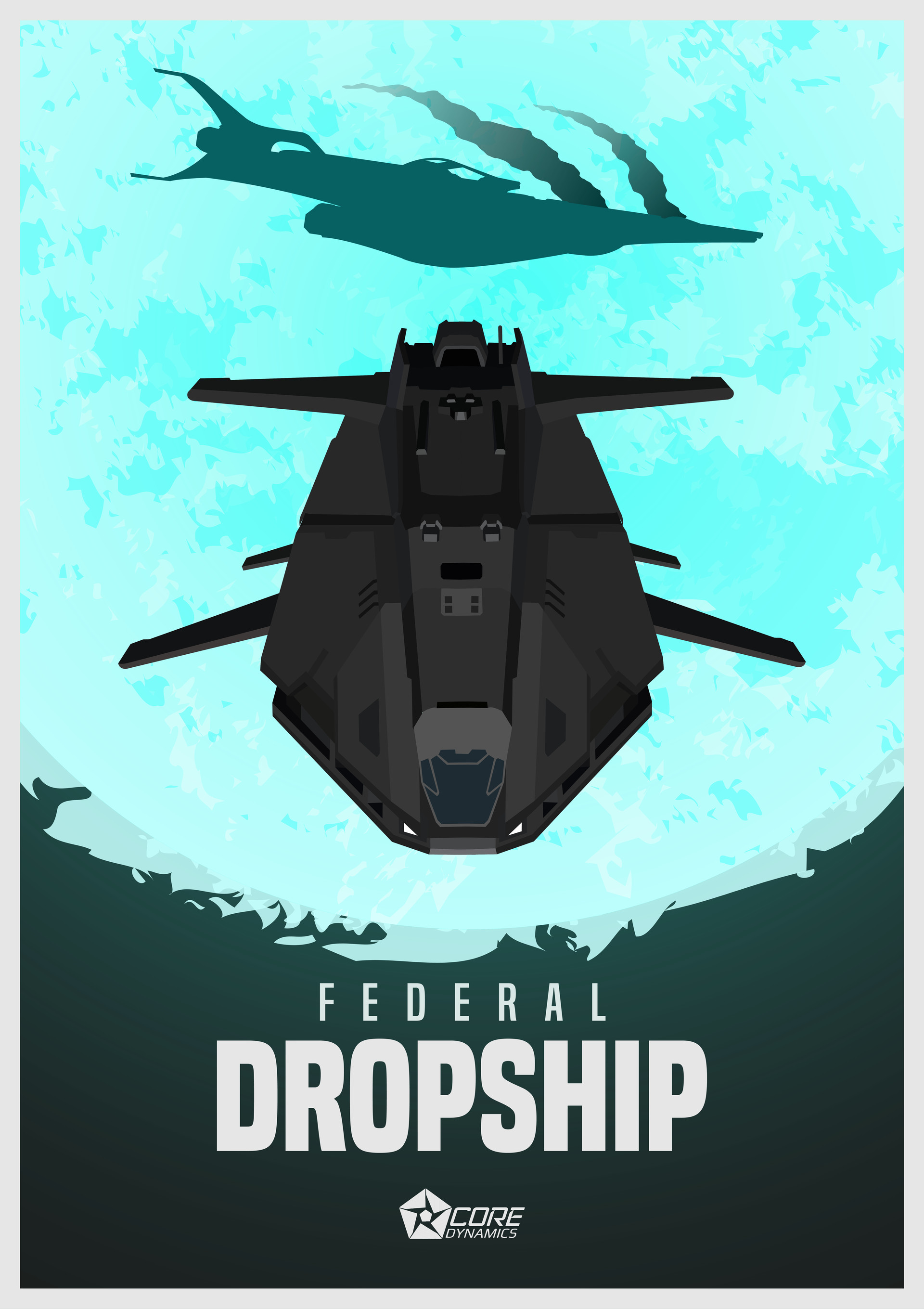 Mathew maddison dropship new blue 01