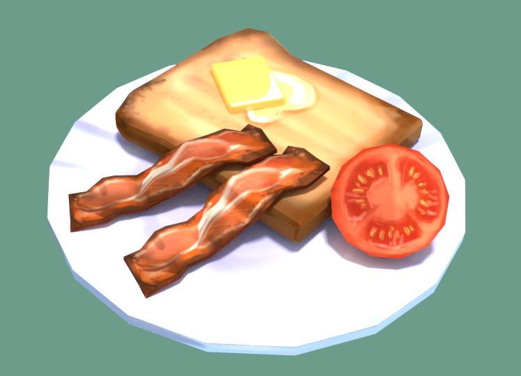 Laura greve render breakfast