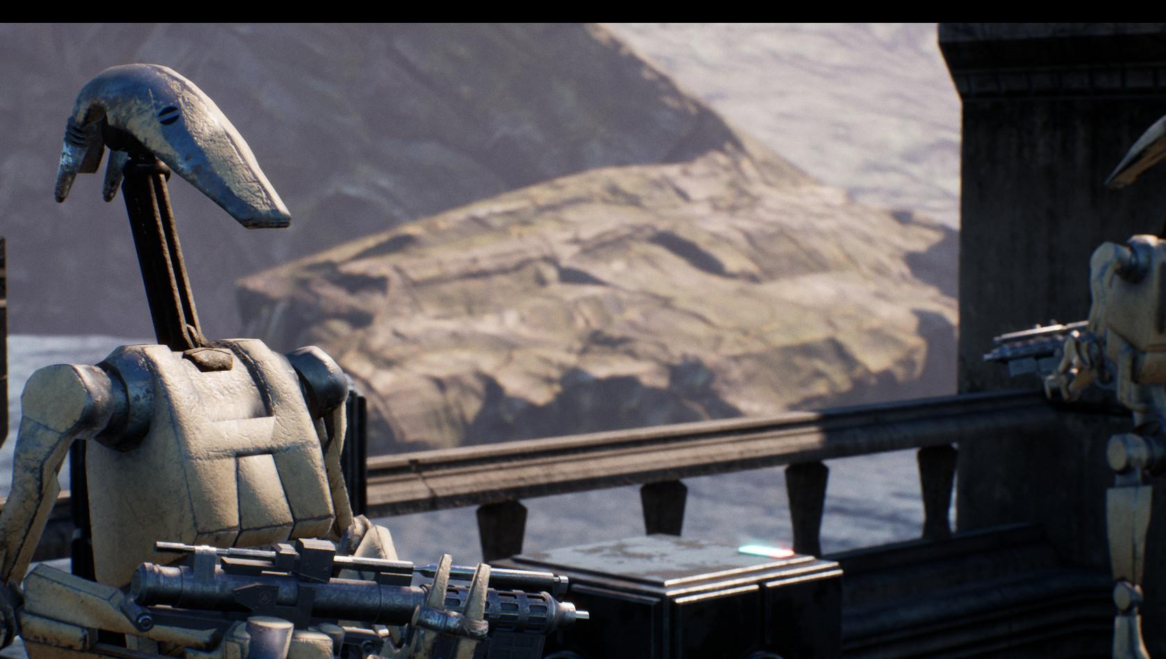 ArtStation - Unreal Engine 4 Star Wars Assets, Owain Bramwell