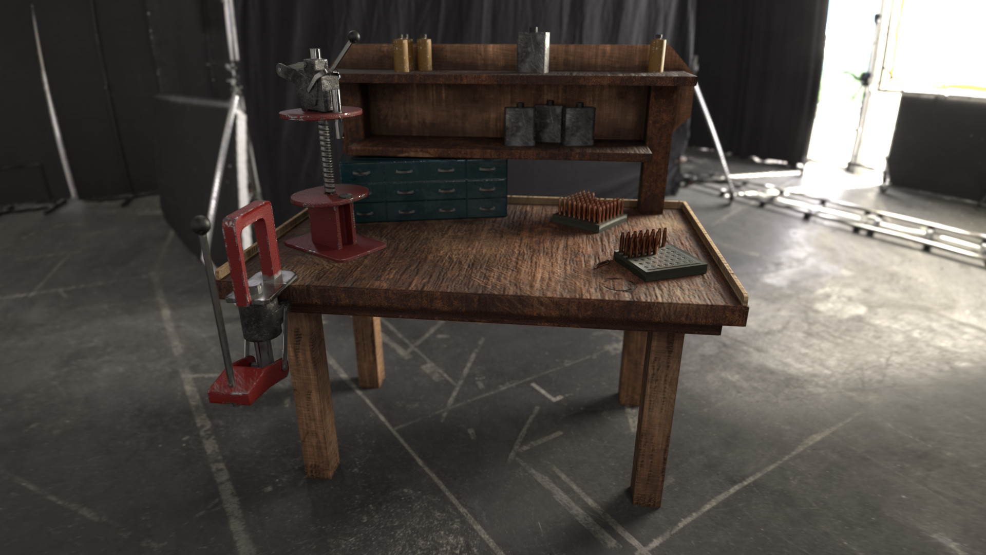 Magnificent Artstation Reloading Bench Andrew Sherman Beatyapartments Chair Design Images Beatyapartmentscom