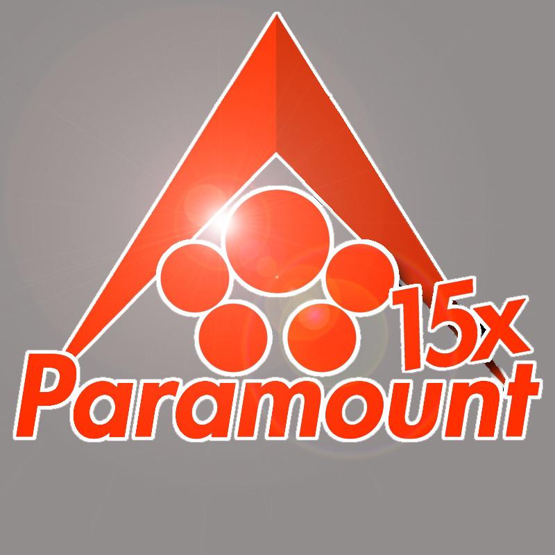 ArtStation - Paramount 15x Cluster ARK server Logo, Adam Waft