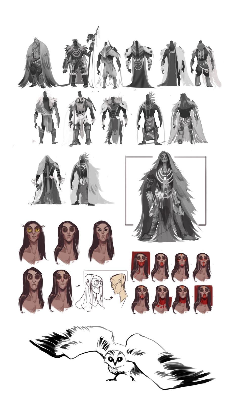 Some previous concepts