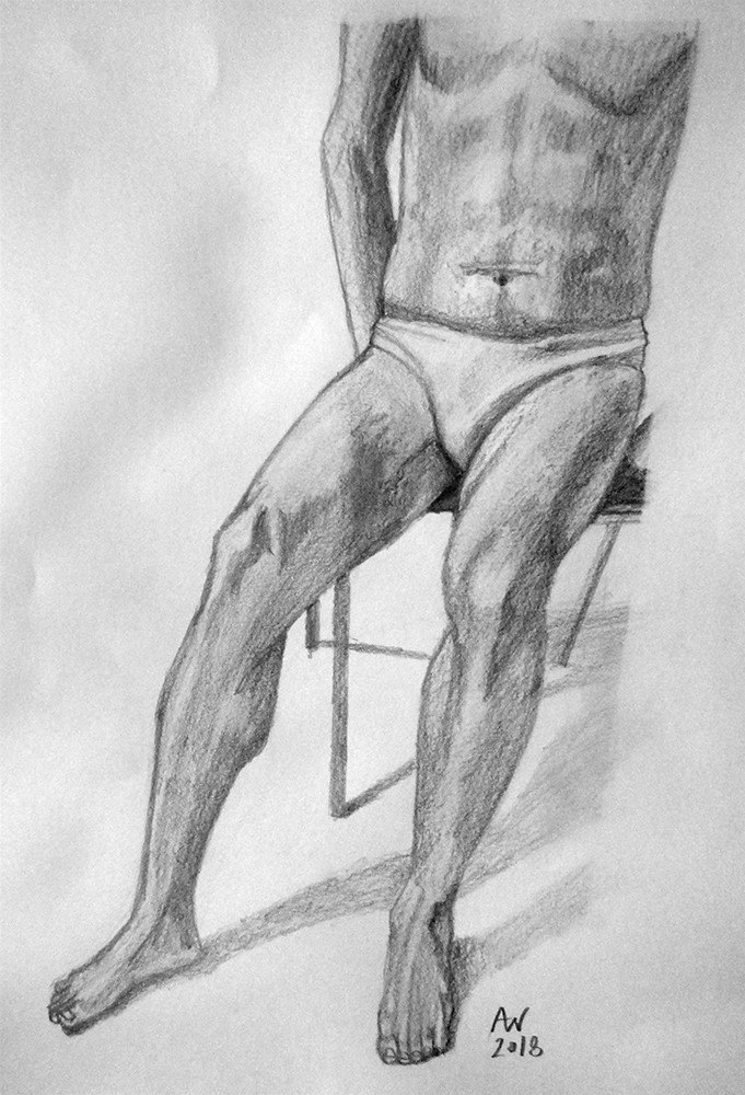 Leg Anatomy Study
