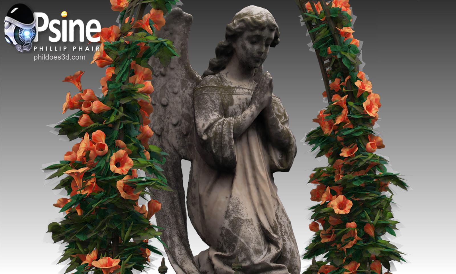 Praying Angel Model