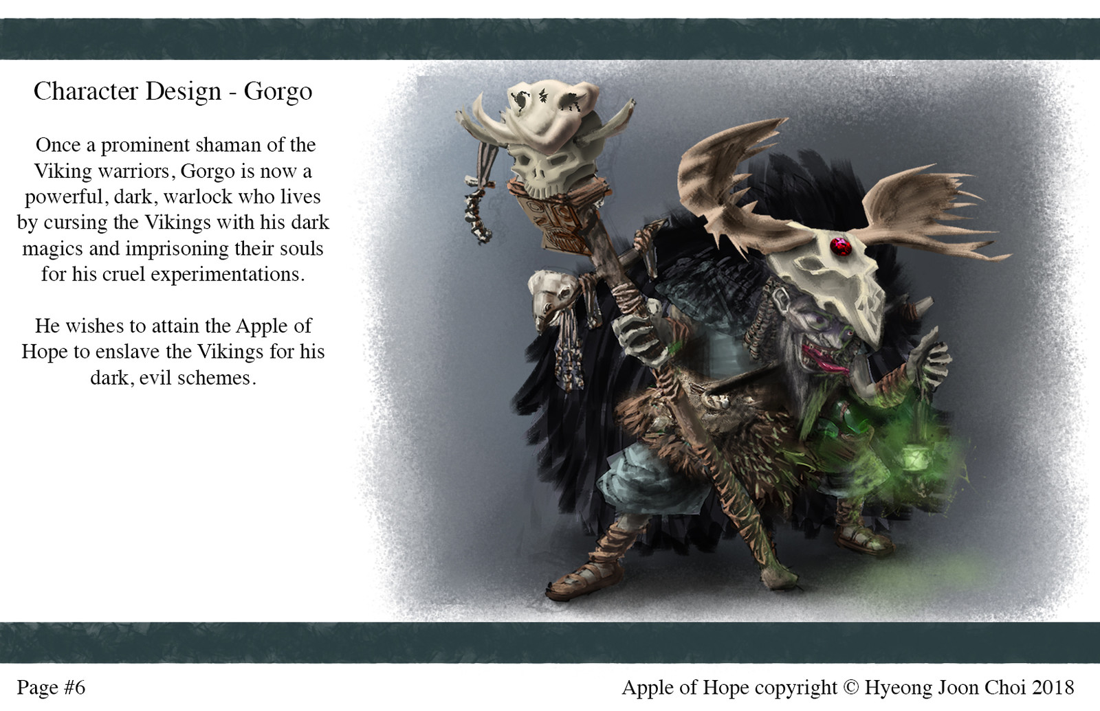 Apple Of Hope - Character Design: Gorgo