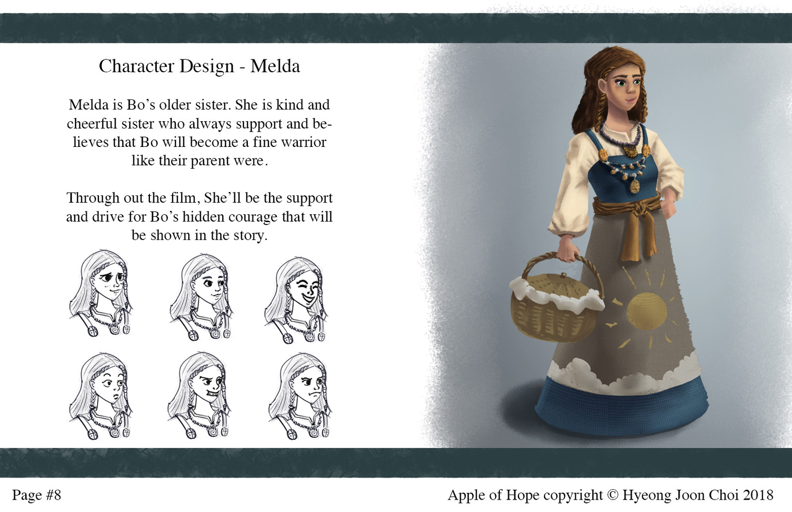 Apple Of Hope - Character Design: Melda