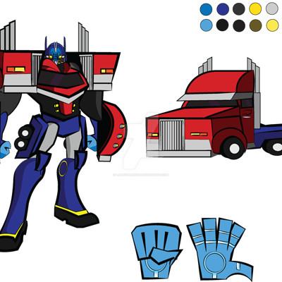 Larry springfield optimus prime update by larryspring96 dckyvt7