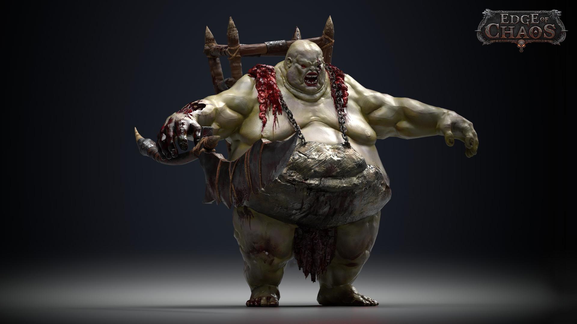 ArtStation - Orc Butcher, Sanjin Halimic