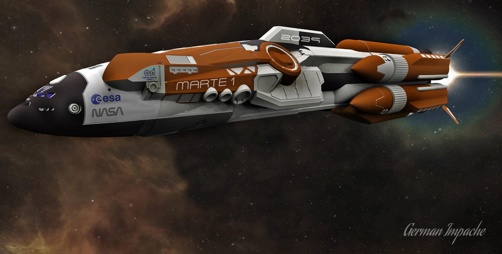 Starship MARTE 1