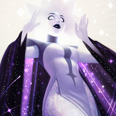 Jessica oyhenart white diamond finished