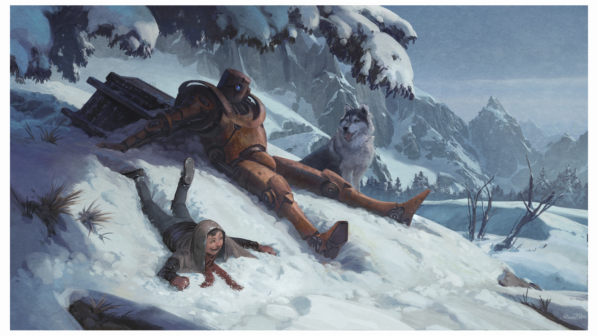 Klaus pillon christmascard notext