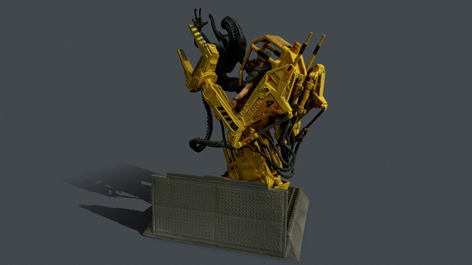 Alien Isolation Figure