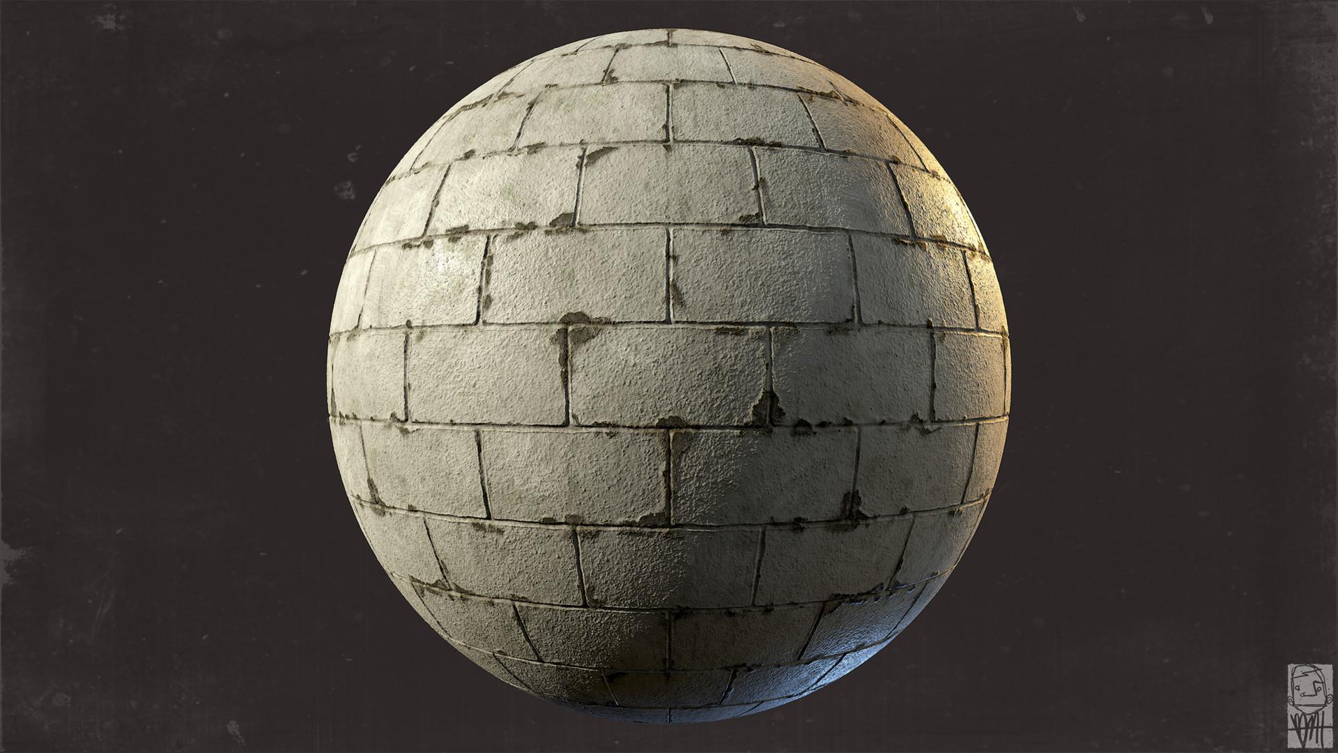 Brett marshall tucker cinderblock sphere render