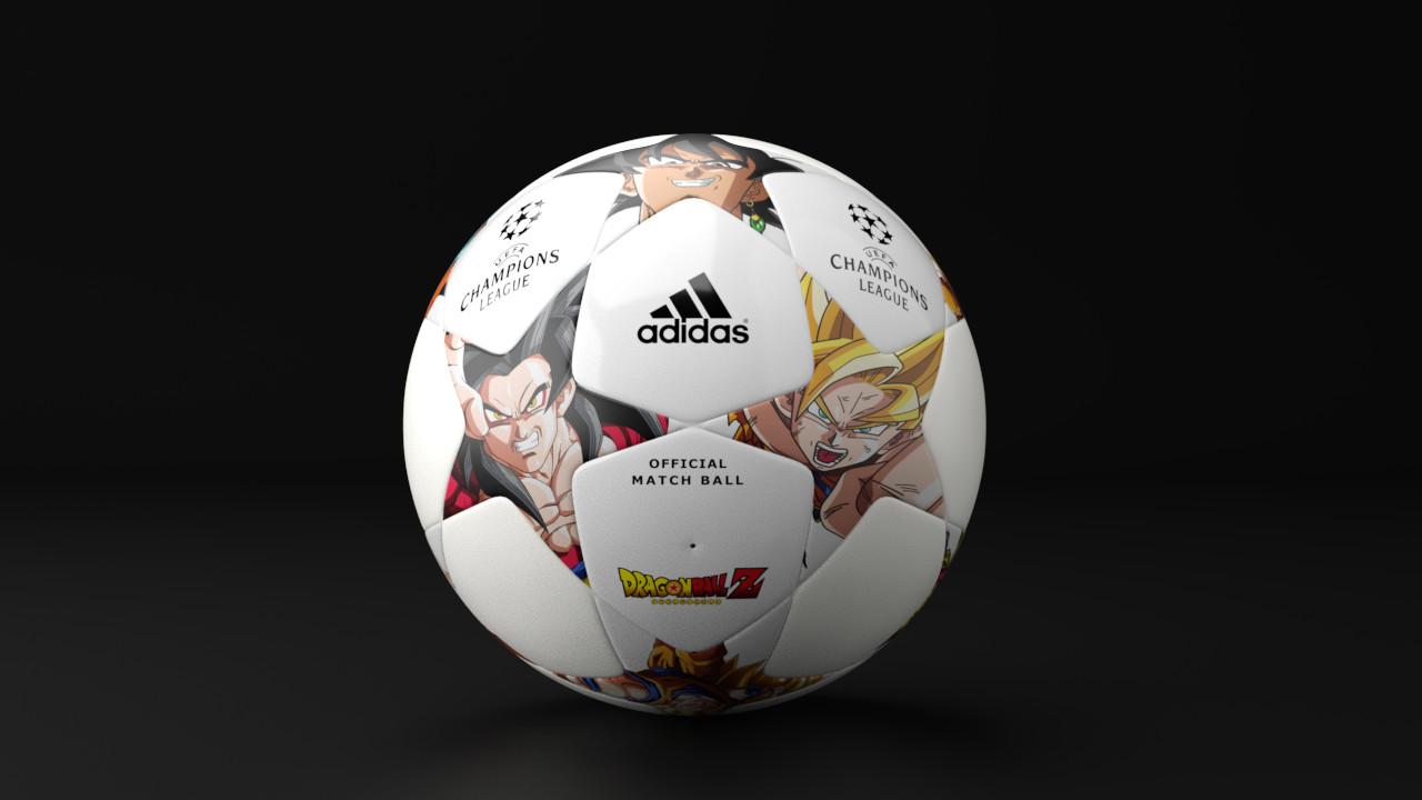 artstation dragonball z x adidas x uefa champions league yves anselme dragonball z x adidas x uefa champions