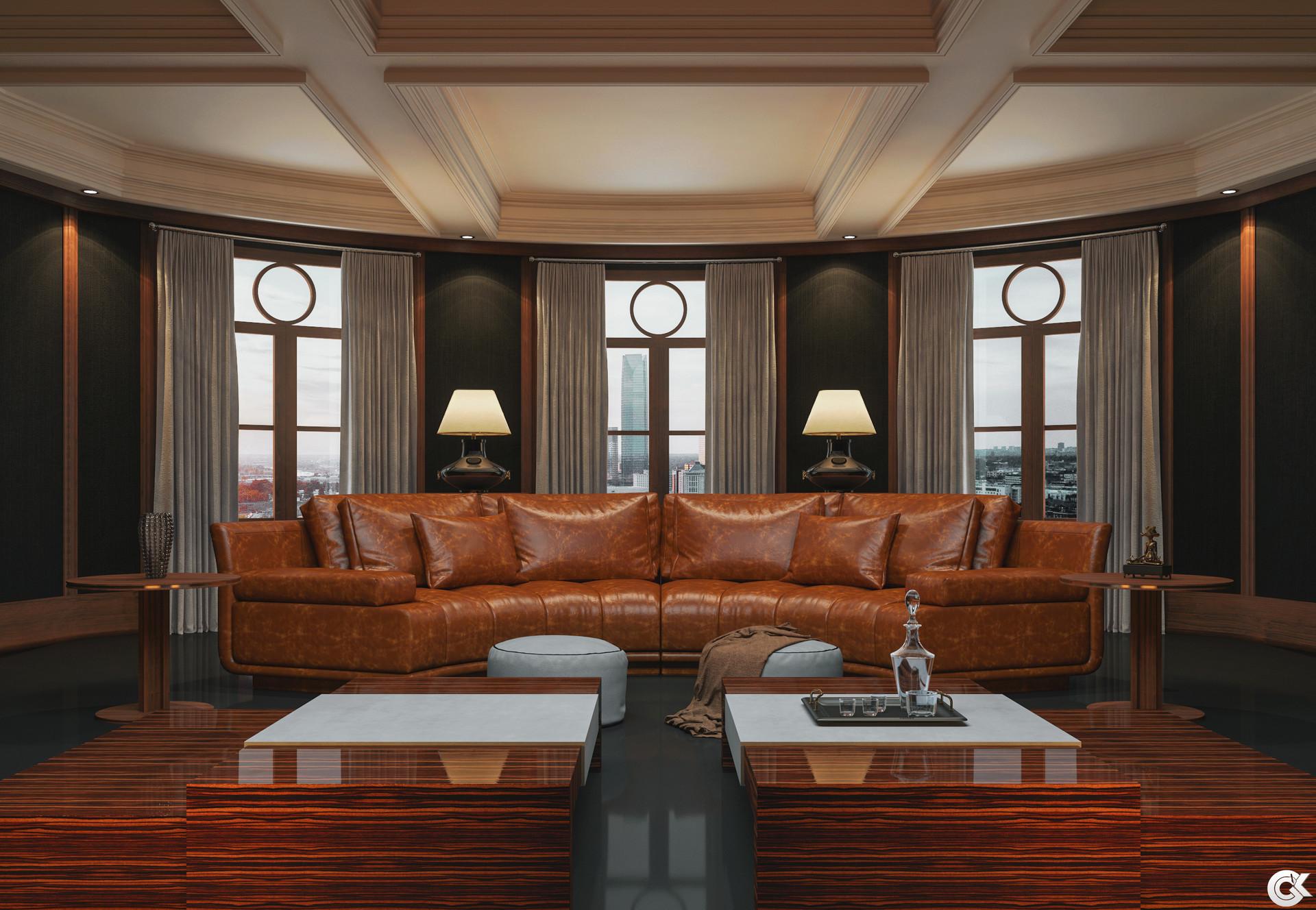 Artstation Brunaj Luxury Lounge Gokhan Can Kilic