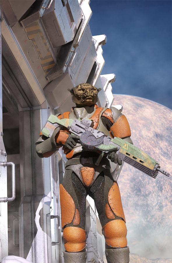 Luca oleastri alien patrol low