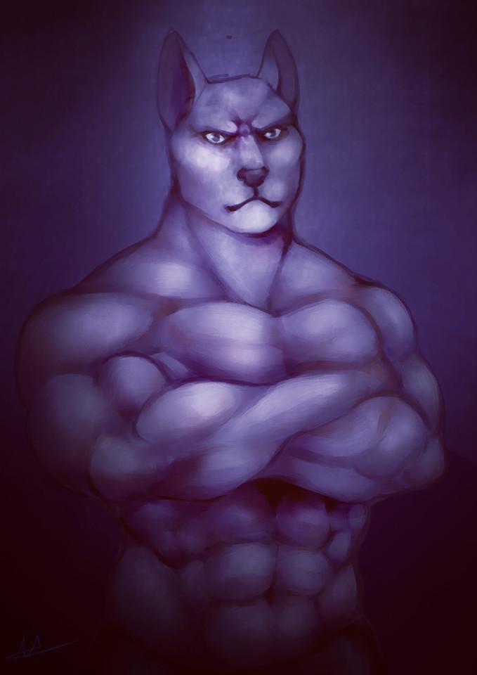 Muscular Anthros