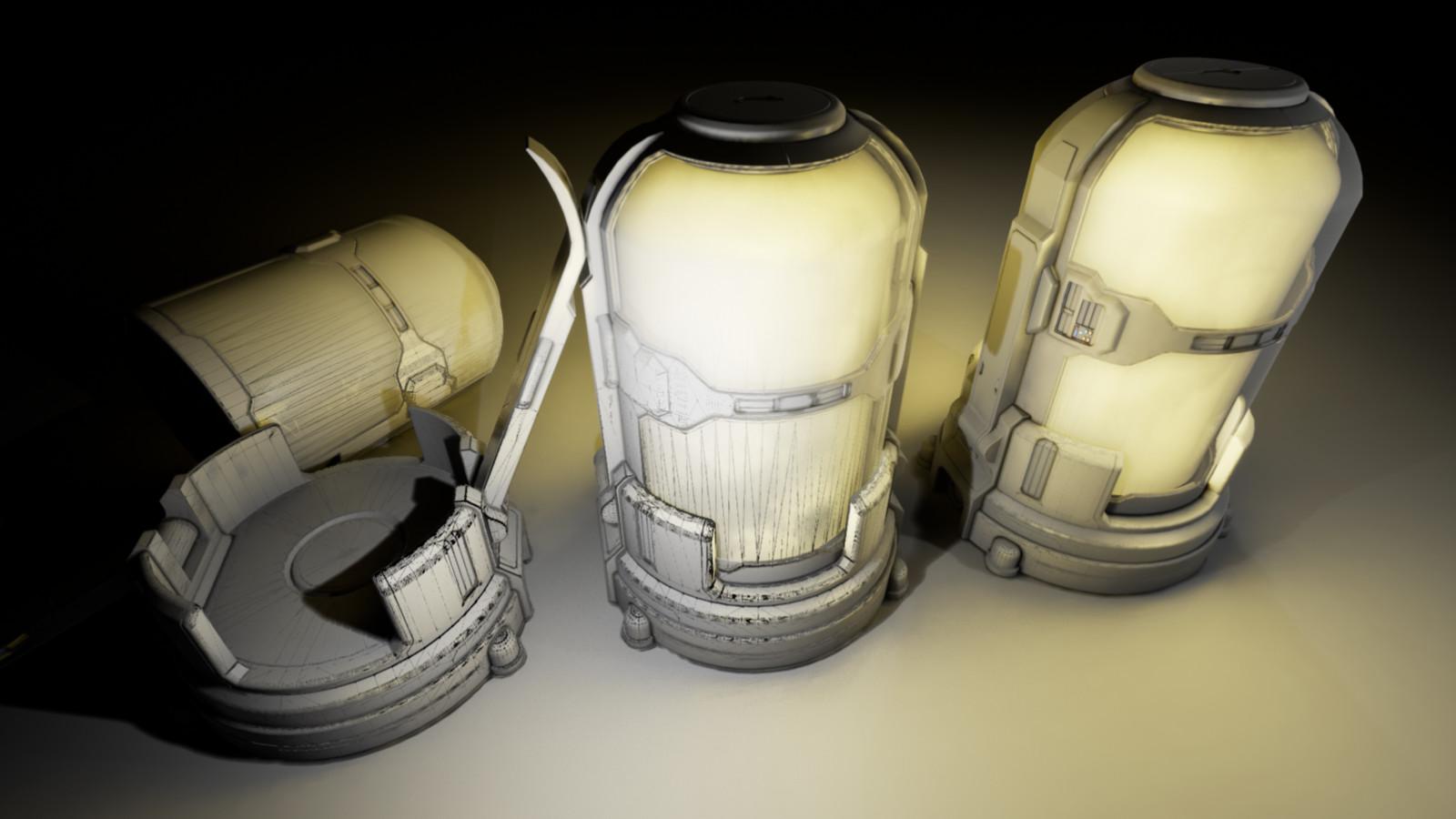 Simple lighting plus UVs