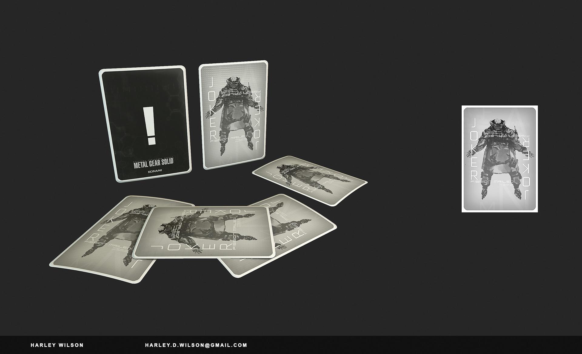 Harley wilson gd playingcards b