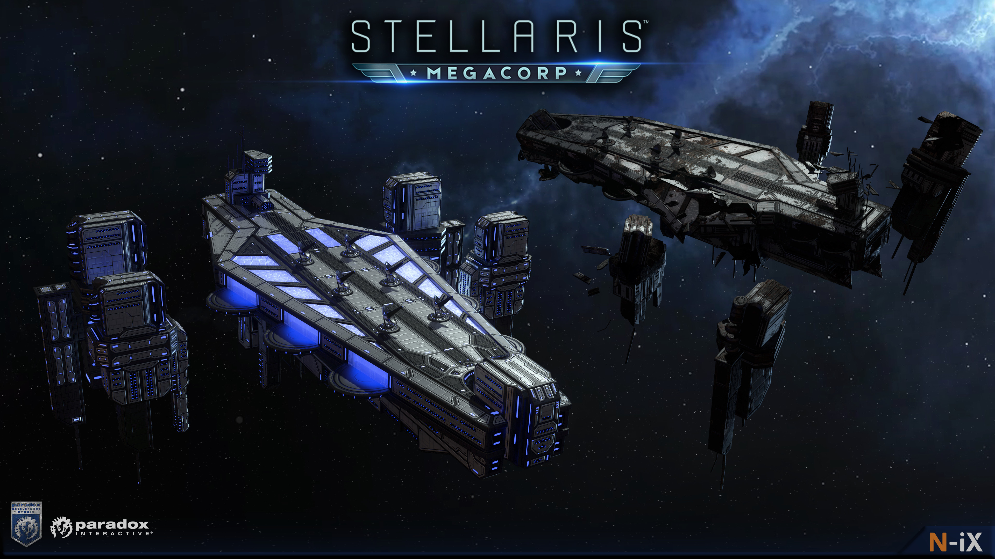 N Ix Game Vr Studio Stellaris Megacorp Megastructures Hello everyone and welcome to another stellaris development diary. n ix game vr studio stellaris