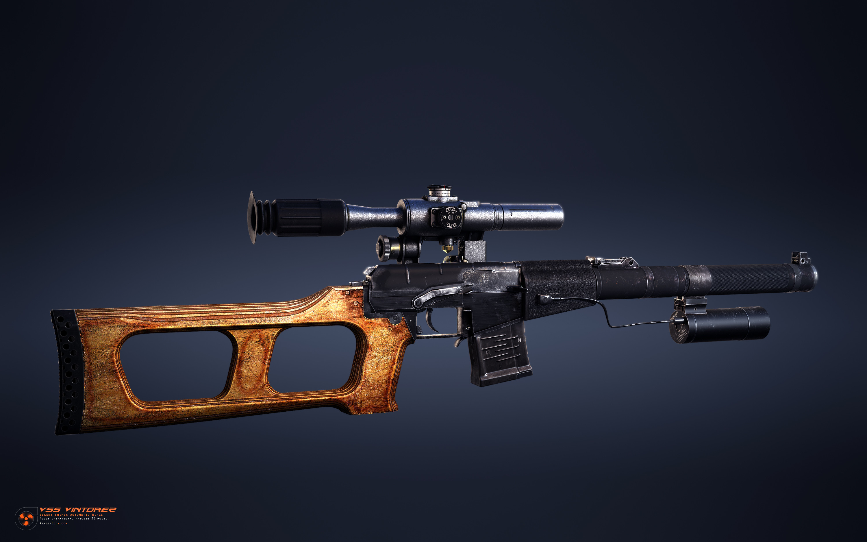 Rifle was designed for special forces operations