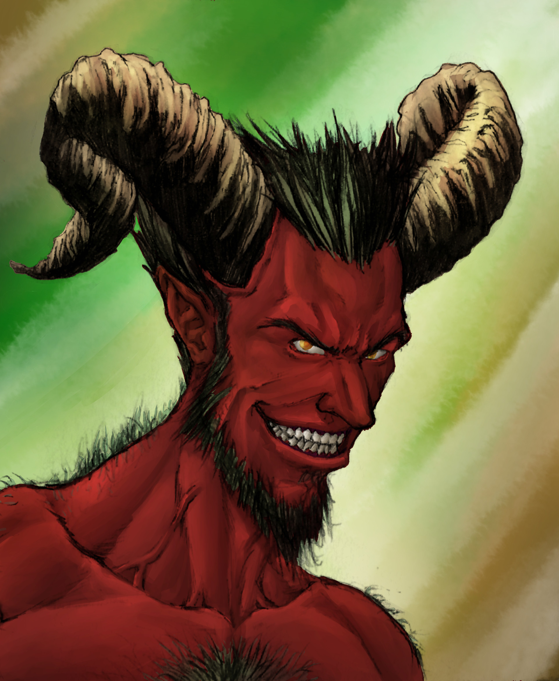 Gustavo melo demon color