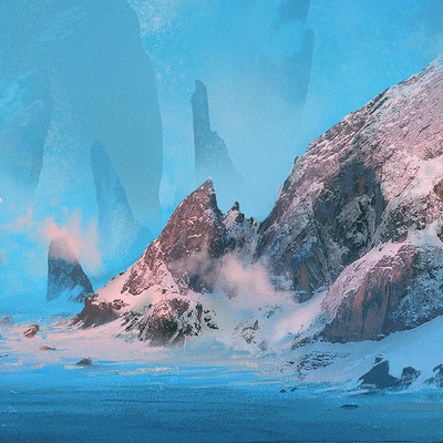 Duncan halleck 12 11 glacial landscape a