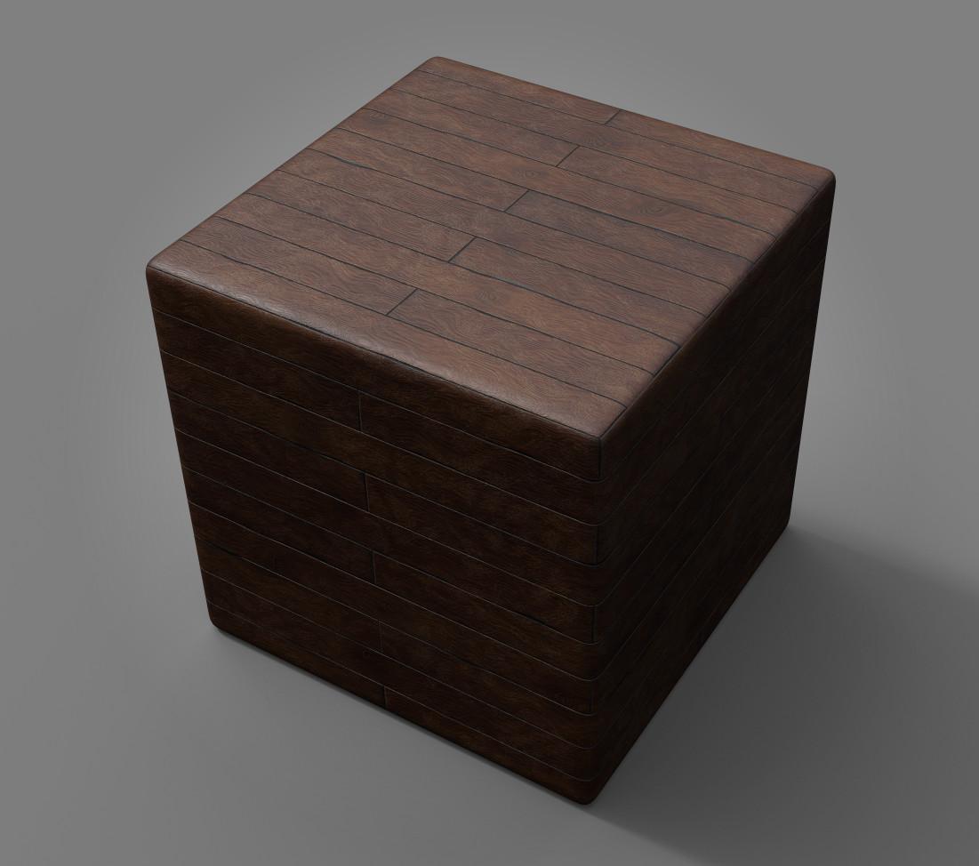 Maurizio barabani wood floor render