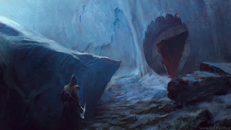 Icewall entrance