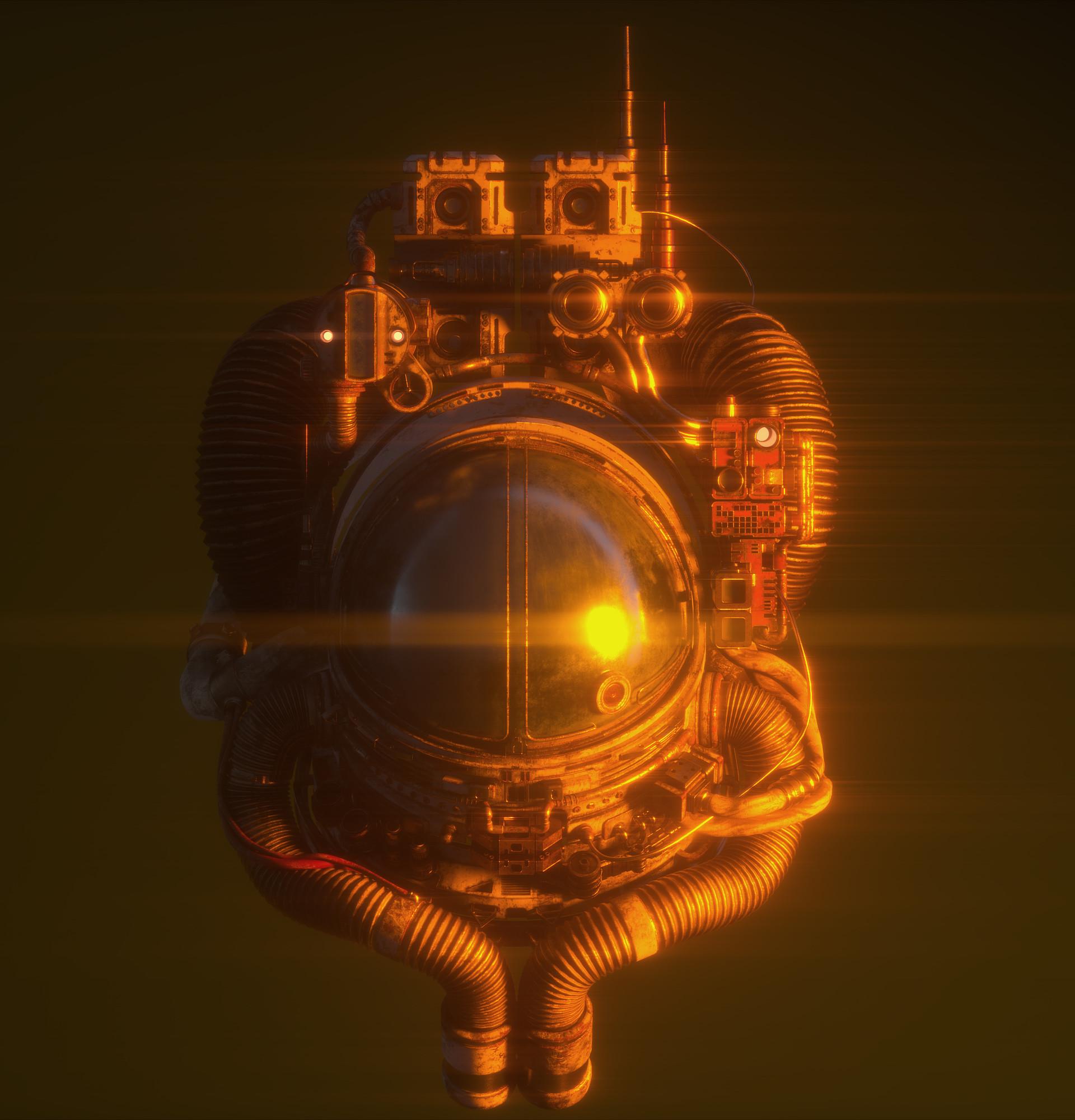 Antoni depowski astronaut orange