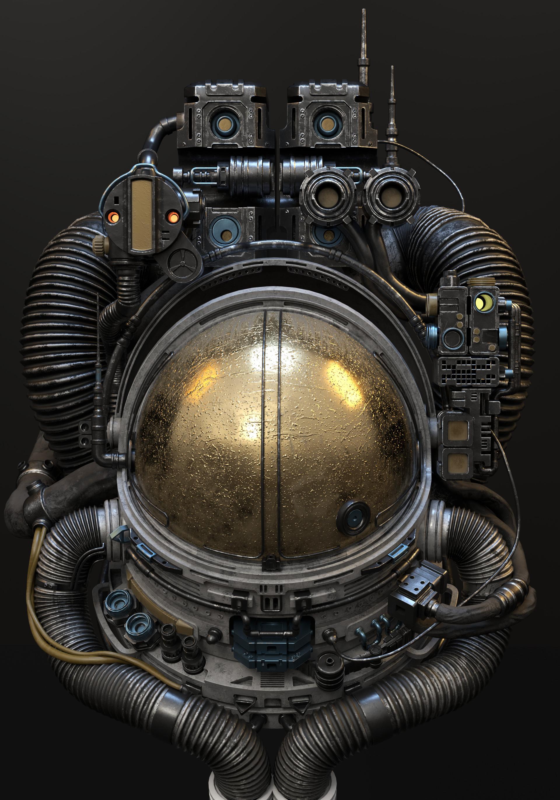 Antoni depowski astronaut clean