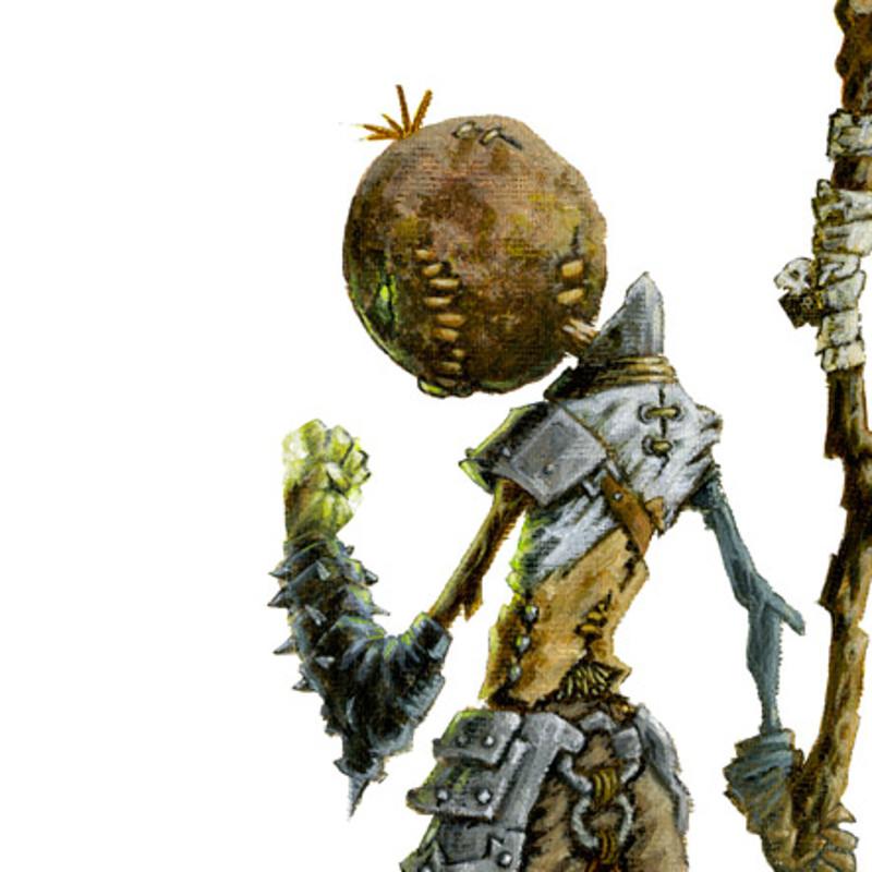 Scarecrow Miniature Concept Art