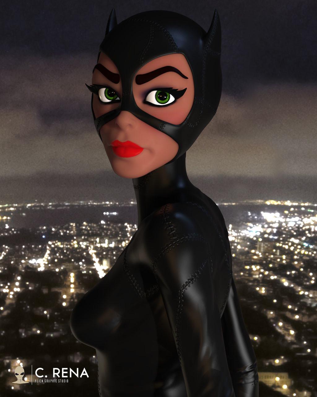 Chris rena catwoman keyshot