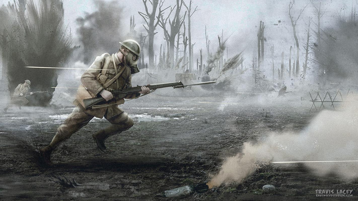 WW1 No Mans Land