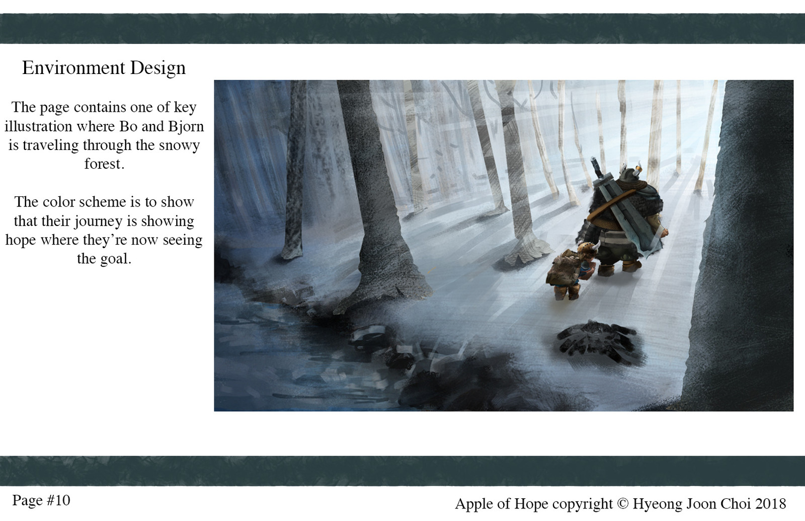 Apple Of Hope - Environment Designs