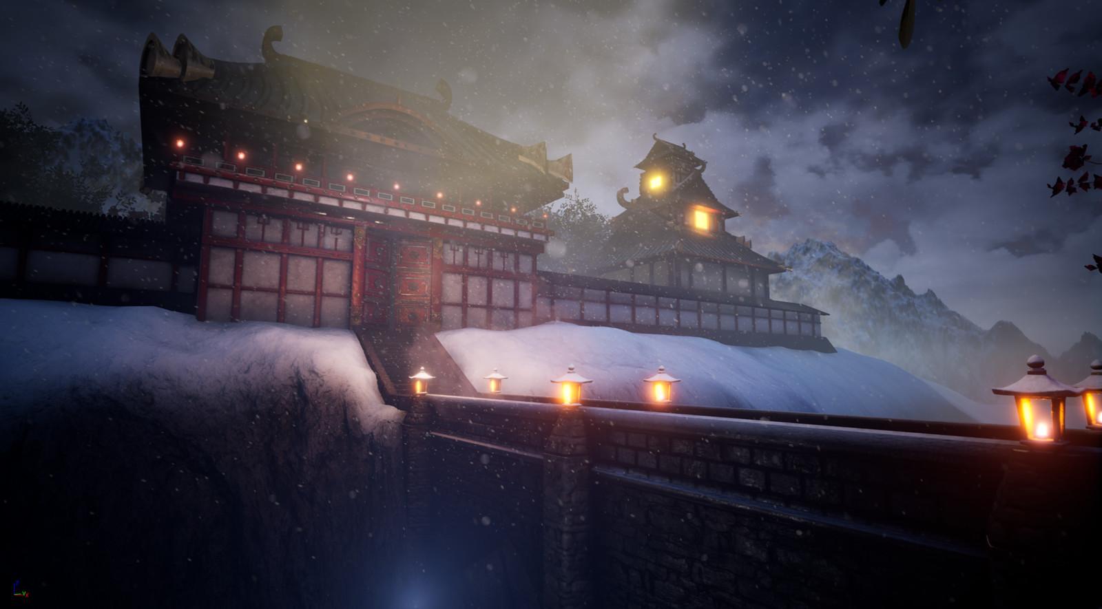 Castle Gates-Feudal Japan Challenge