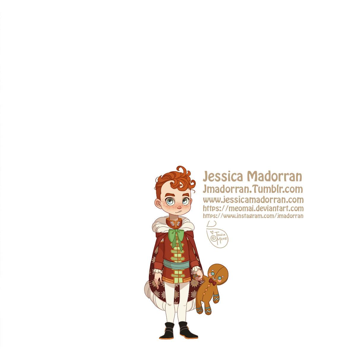 Jessica madorran character design paris 2018 versailles santa family individuals son