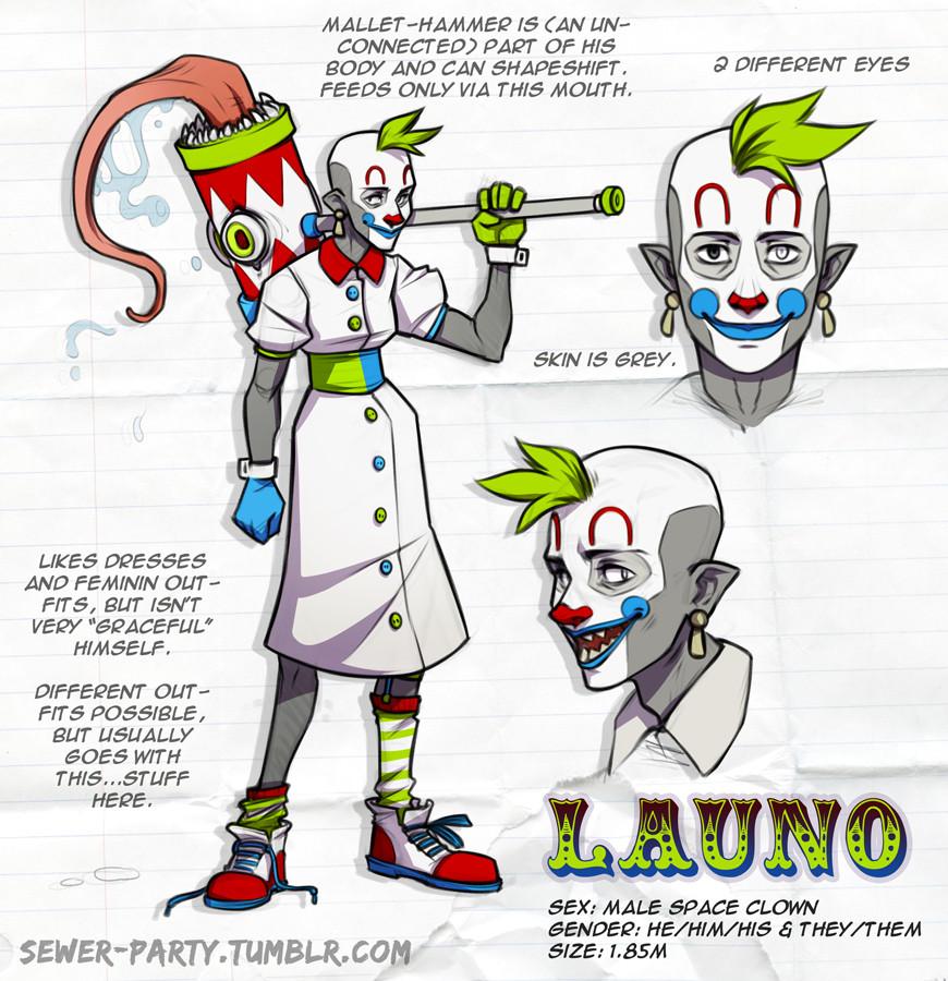 Lisa heschl 171229 launo clown