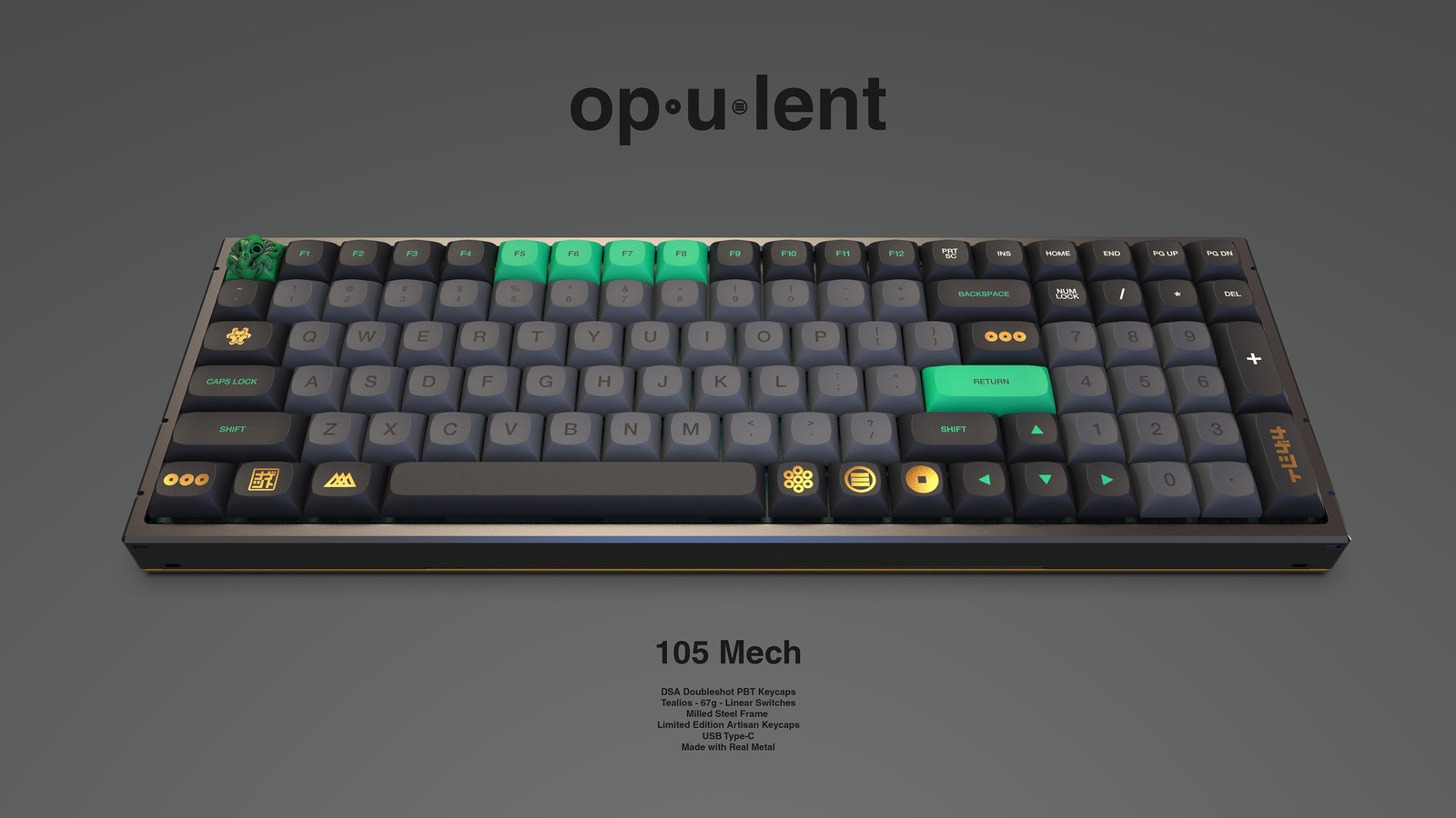 op.u.lent - Mechanical Keyboard
